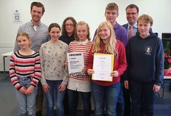 3. Platz - Schülerzeitungspreis des Landes
