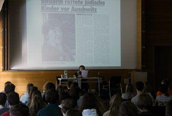 Zeitzeugengespräch mit Margot Wicki-Schwarzschild